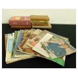 (6) Vintage Books & Vintage Magazines