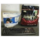 Key Board, Whey Protein & Colpac