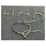 (4) Antique Horse Bits