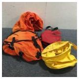 (2) Saddle Bags