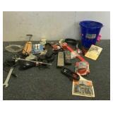 Assorted Parts, Tools & Supplies