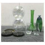 Assorted Vases & Coasters