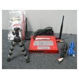 Firebox SOHO 6tc, Tripod & Misc. Wires