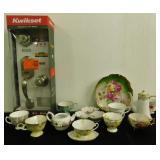 Flower Tea Set & Kwikset Front Door Set