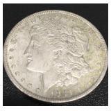 (1) 1921 Morgan Silver Dollar
