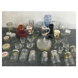 Cups, Pitcher, Small Jars For Storage
