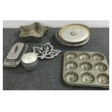 Assorted Pie Tins, Cake Pans & More