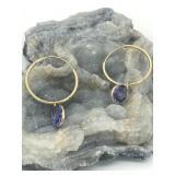 $1985 10K  Tanzanite(2.6ct) Earrings