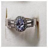 $300  Tanzanite(0.8ct) Ring