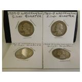 Silver Washington Quarters