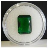 5.40ct Emerald Cut Tourmaline 10x14mm Gemstone
