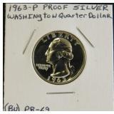 (BU) PR-69 Washington Quarter Dollar