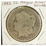 1882-CC Morgan Silver Dollar (Carson City Mint)