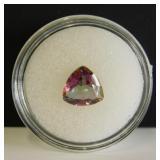 2.10ct Mystic Rainbow Topaz Trillion Cut Gemstone
