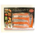 21-Piece Kitchen Cutlery Set