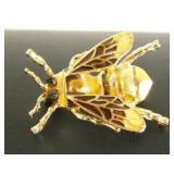 Black & Gold Bumblebee Pin