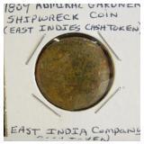 1809 Admiral Gardner Shipwreck Coin