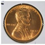 1937 Rare Lincoln Wheat Penny MS68 (A7)