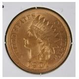 1901 Rare Indian Wheat Penny  MS67 (A-)
