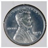 1943 S Rare WW2 Lincoln Steel Penny MS68(A#)