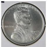 1943 D Rare WW2 Lincoln Steel Penny MS68 (A+)