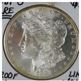 1881 S Rare Morgan Dollar MS66 + PL (AN)