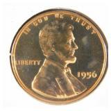 1956 Lincoln Wheat Penny PR69