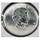 2006 1/2 OZ Silver Timer Wolf Coin