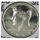 1964 Rare Cameo Kennedy Half Dollar PR70 (B3)