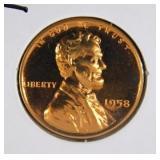 1958 Lincoln Wheat Penny PR69