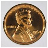 1964 Lincoln Memorial Penny PR69