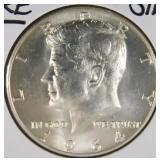 1964 D Kennedy Half Dollar MS66