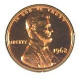 1962 Lincoln Memorial Penny PR69