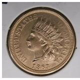 1863 C.N. Indian Head Penny