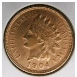 1904 Indian Head Penny MS63
