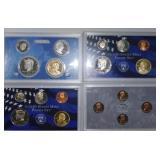 United States Mint 2007, 2008, 2009 Proof Sets