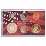 United States Mint 2005 Silver Proof Set