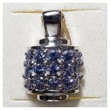 $200 Silver Tanzanite(1.3ct) Pendant