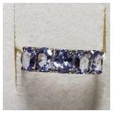 $1885 10K  Tanzanite(2ct) Ring