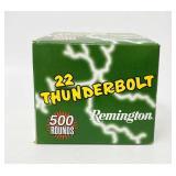 Remington Thunderbolt  High Velocity .22 Ammo