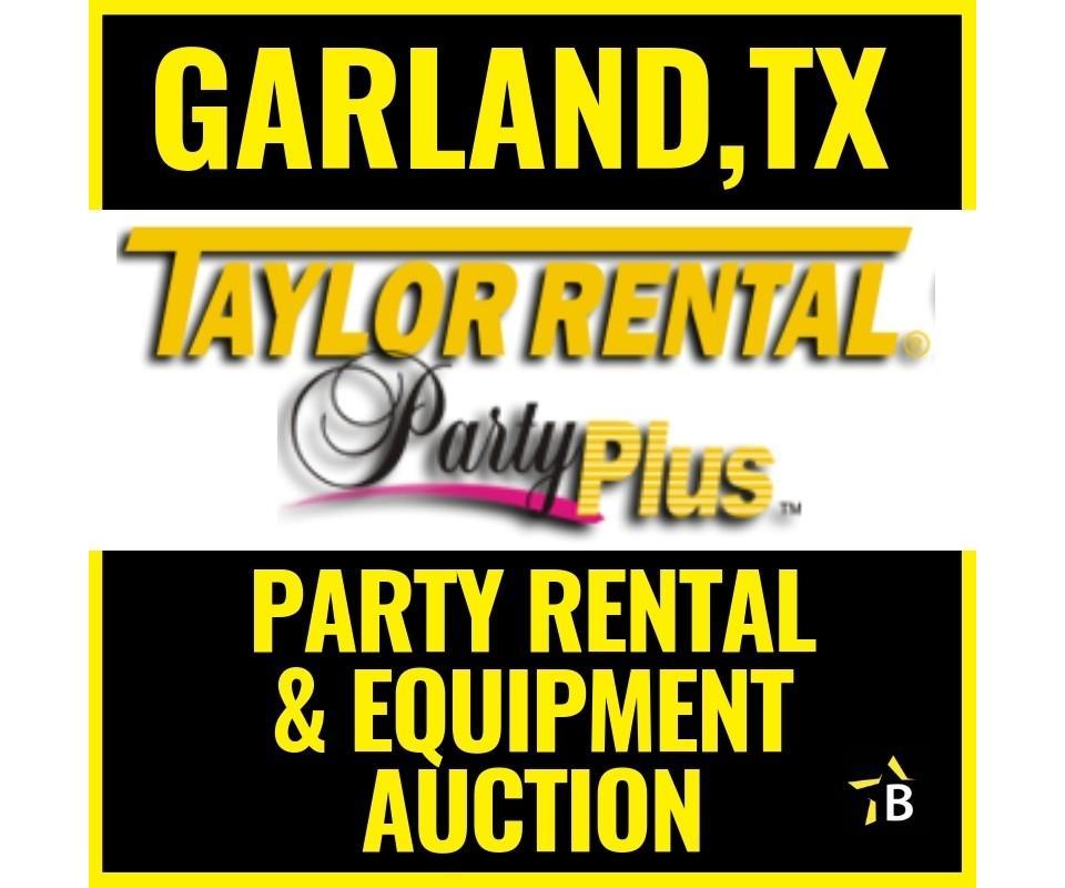 Garland,TX Taylor Rental Surplus Catering & Heavy Equipment