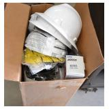 (1) BOX OF PPE SAFETY EQUIPMENT