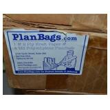 (4) BOXES PLASTIC PLAN BAGS