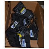 (2) BOXES OF MOTOROLA MOBILE RADIOS