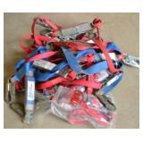 (14) ASSORTED SAFETY HARNESS SLINGS