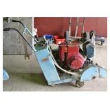 TARGET  SELF PROPELLED CONCRETE SAW
