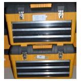(2)  3 DOOR WESTWOOD TOOL BOXES
