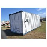 20 FT. STORAGE CONTAINER PREWIRED FOR ELECTRICITY