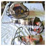 (1) PORTER CABLE DRILL, (1) BLACK AND DECKER DRILL