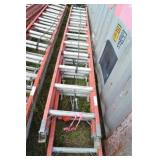 (2) EXTENDABLE LADDERS